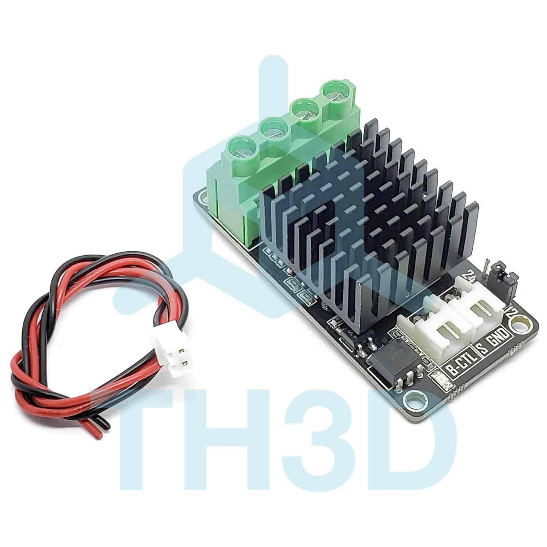 High Amp 12v  24v Mosfet V2 - Heated Bed Or Hotend