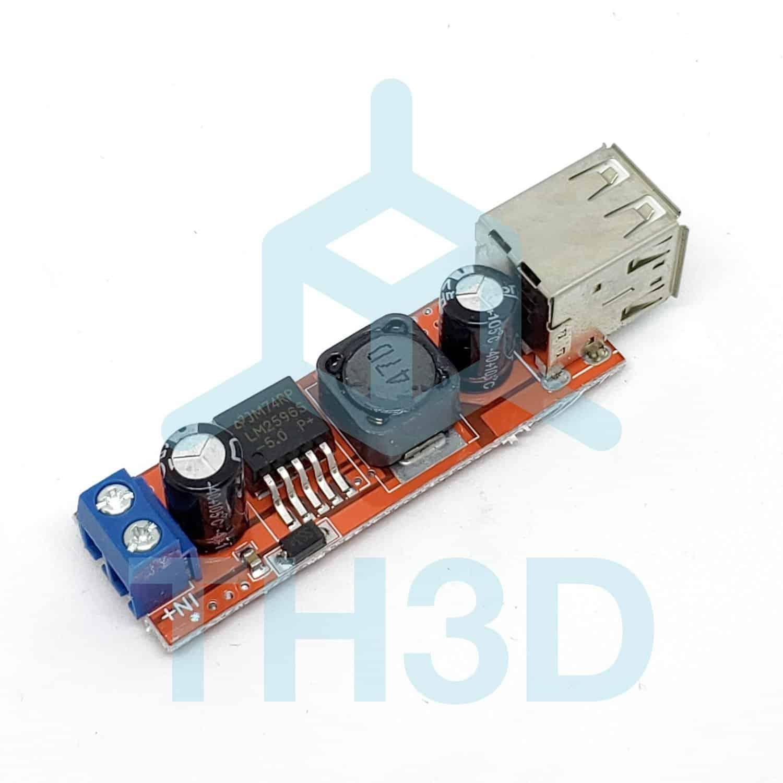 Raspberry Pi 3 Amp Direct Wire Power Adapter - TH3D Studio LLC