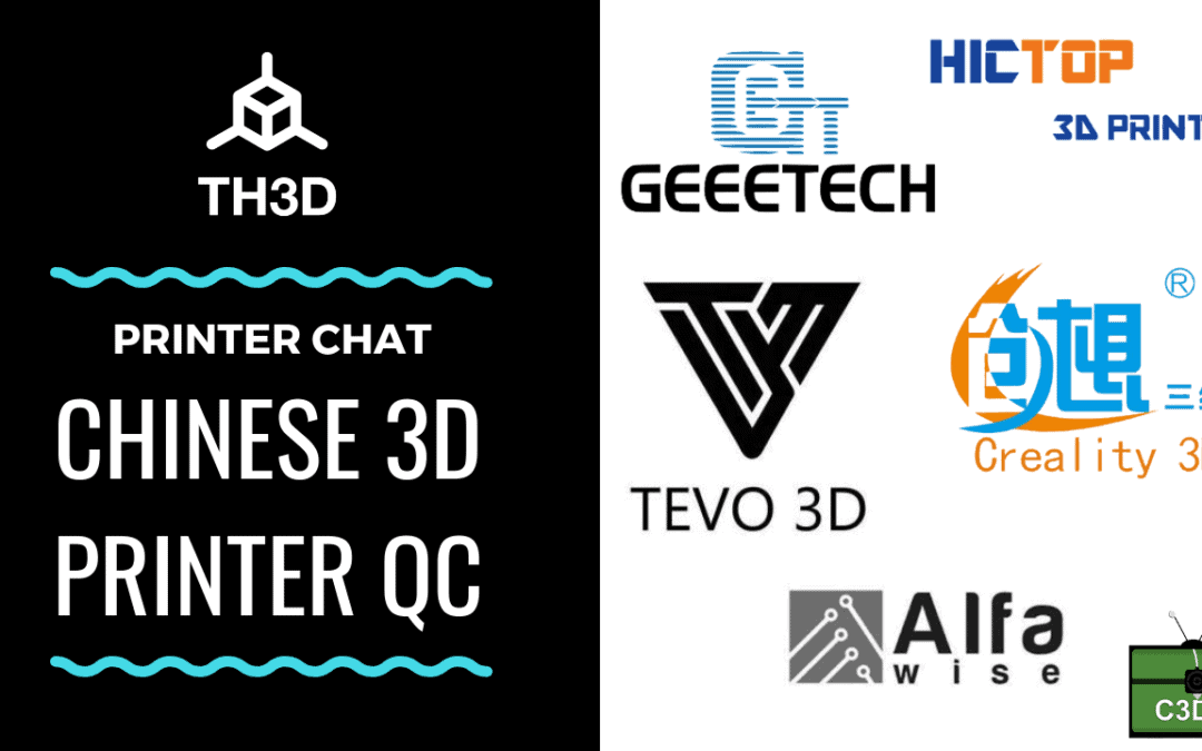 Live Stream Tonight! 9PM CST – Chinese 3D Printer QC