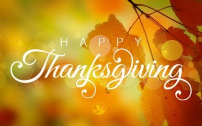Happy Thanksgiving 2018 – We're thankful for you!