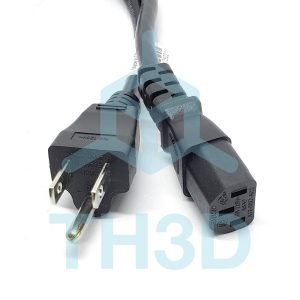3D Printer Power Cord w/Ground