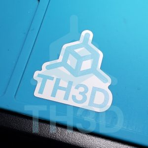 TH3D Vinyl Sticker
