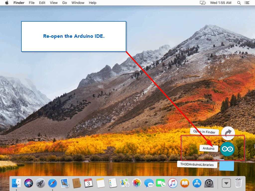 how to run th3d marlin firmware on mac