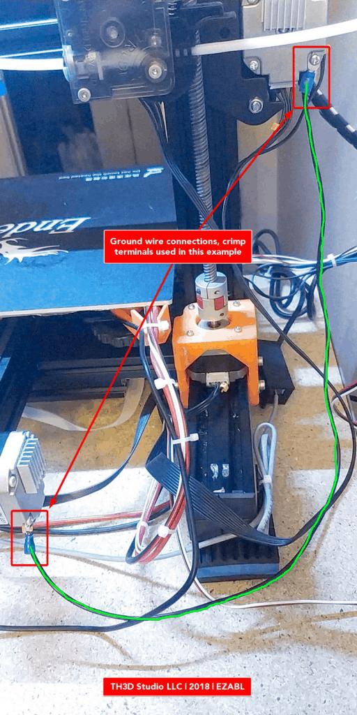 Sensors and Gantry Grounding - TH3D Studio LLC