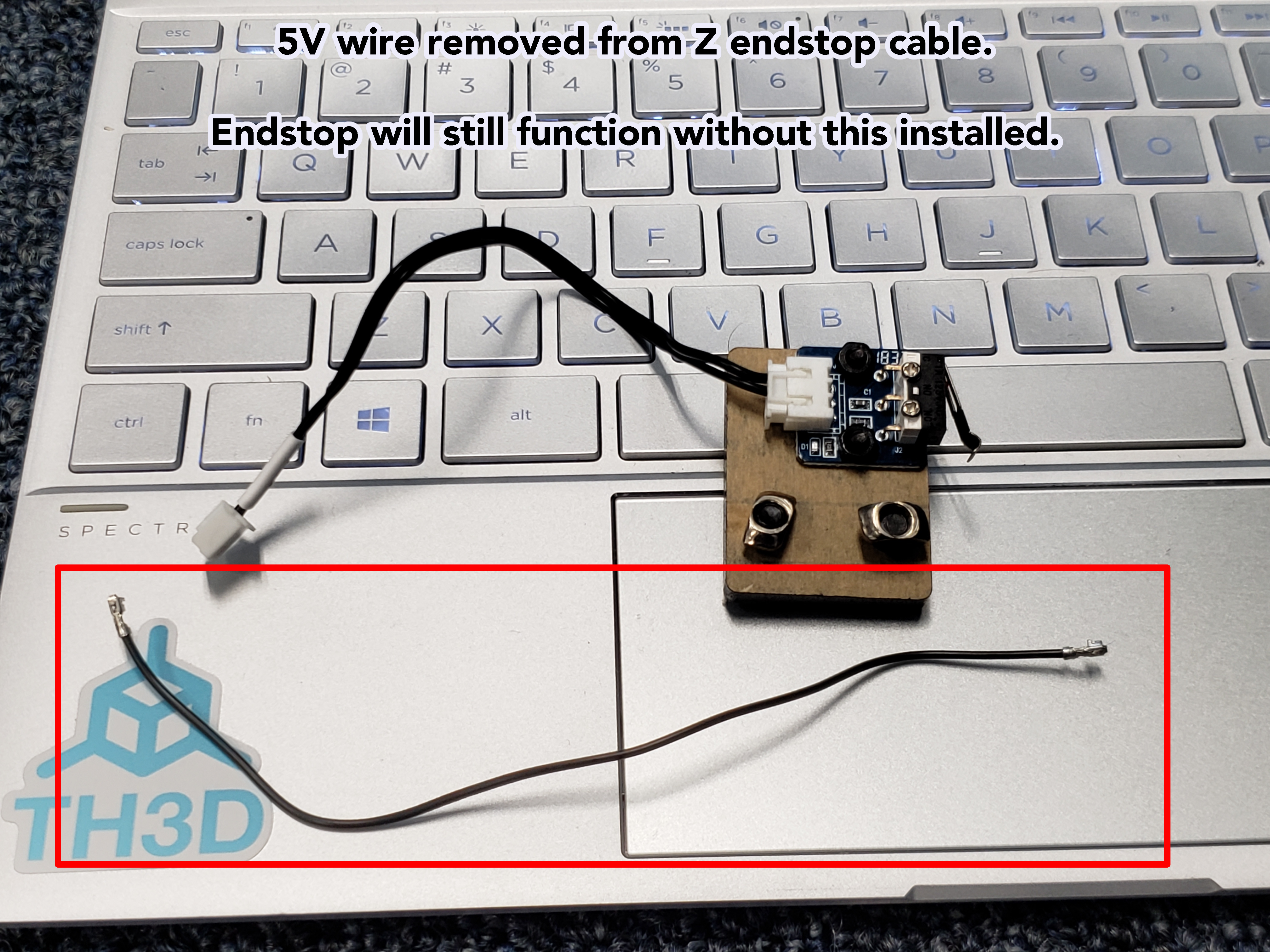 Geeetech A10, A10M, A20, A20M Z Endstop Wiring for EZABL - TH3D