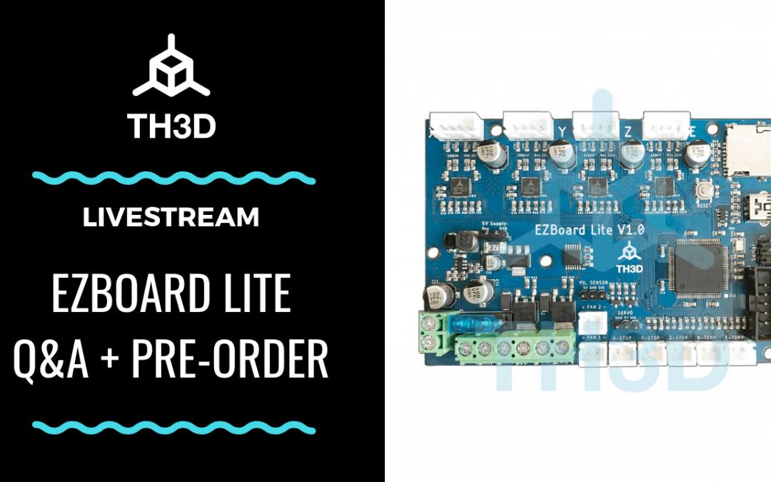 [LIVE] EZBoard Lite Announcement – Q&A w/Pre-Order