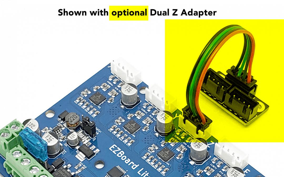 EZBoard Update – Dual Z Motor Adapters – 1/14/2020